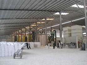 硫酸钡砂加工车间